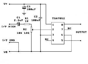 tda7052-circuit